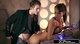 Doctor Who XXX Parody: Busty Babe Franceska Jaimes Fucks Hero for Saving Her