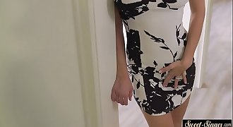 Tittyfucking stepmom gets fucked from behind