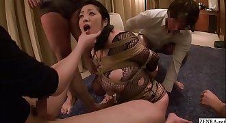 Extreme JAV tied free use blowjobs Minako Komukai Subtitled