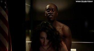 Lisa Edelstein - Doggystyle Sex Scene, Black Underwear - Building of Lies s02e05 (2013)